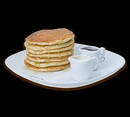Naleśniki pancakes zsyropem klonowym iwaniliowym