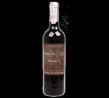 Wino Alconde Semi Seco Coleccion Tinto