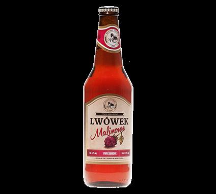 Piwo Lwówek Malinowe