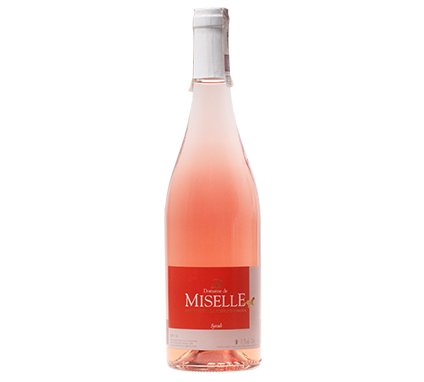 Wino Miselle Rosé Syrah Côtes de Gascogne VdP