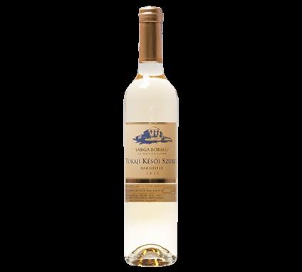 Wino Sarga Borhaz Late Harvest Hárslevelü