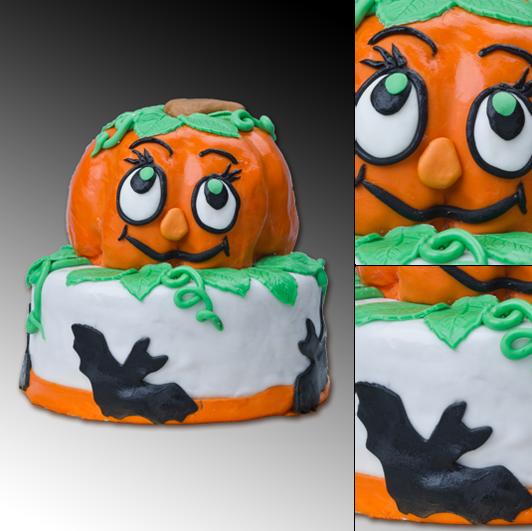 Tort halloween'owy